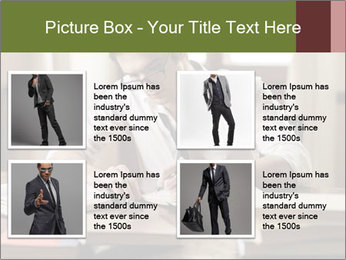 Concentrated Man PowerPoint Template - Slide 14