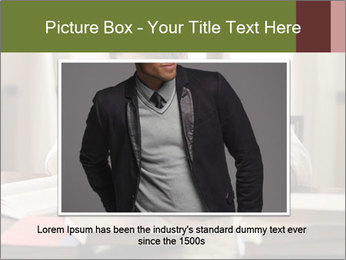 Concentrated Man PowerPoint Template - Slide 15