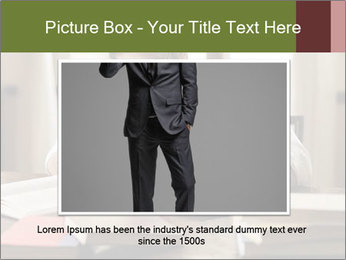 Concentrated Man PowerPoint Template - Slide 16