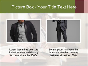 Concentrated Man PowerPoint Template - Slide 18