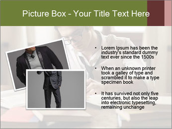 Concentrated Man PowerPoint Template - Slide 20