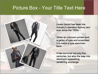 Concentrated Man PowerPoint Template - Slide 23