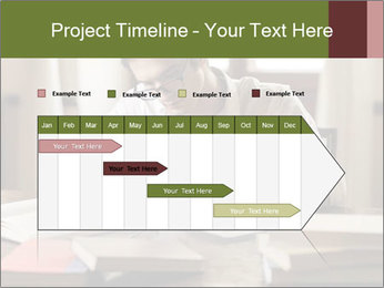 Concentrated Man PowerPoint Template - Slide 25