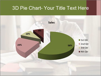 Concentrated Man PowerPoint Template - Slide 35