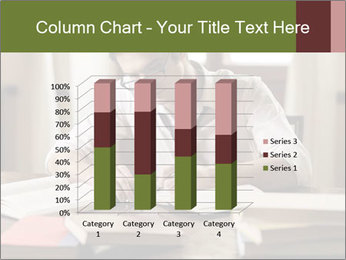 Concentrated Man PowerPoint Template - Slide 50