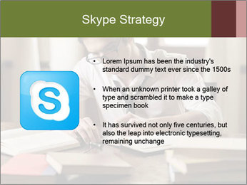 Concentrated Man PowerPoint Template - Slide 8