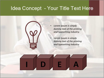 Concentrated Man PowerPoint Template - Slide 80