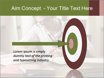 Concentrated Man PowerPoint Template - Slide 83