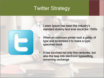 Concentrated Man PowerPoint Template - Slide 9