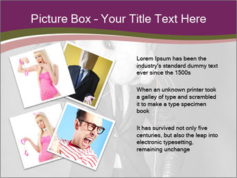 Man In White Rabbit Mask PowerPoint Templates - Slide 23