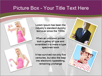Man In White Rabbit Mask PowerPoint Templates - Slide 24