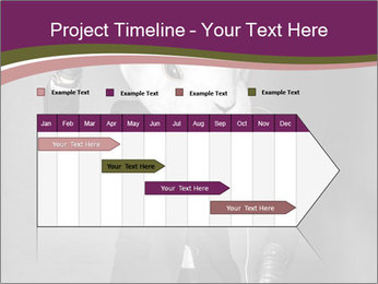 Man In White Rabbit Mask PowerPoint Template - Slide 25