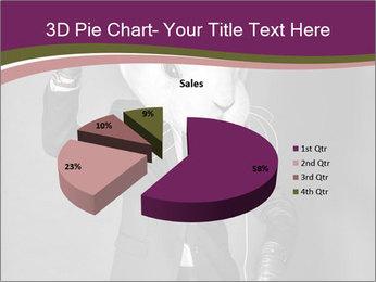 Man In White Rabbit Mask PowerPoint Template - Slide 35