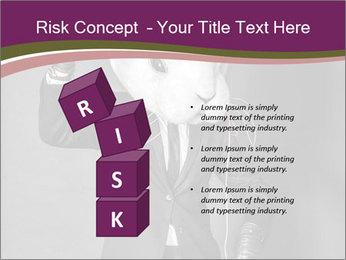 Man In White Rabbit Mask PowerPoint Template - Slide 81