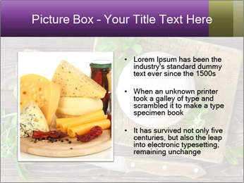 Italian Cheese Wheel PowerPoint Templates - Slide 13