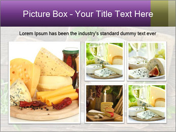 Italian Cheese Wheel PowerPoint Templates - Slide 19