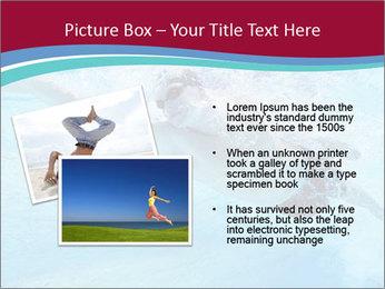 Swimmer Under Water PowerPoint Template - Slide 20