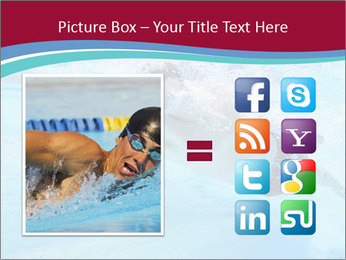 Swimmer Under Water PowerPoint Templates - Slide 21