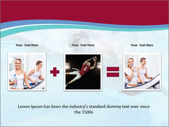 Swimmer Under Water PowerPoint Templates - Slide 22