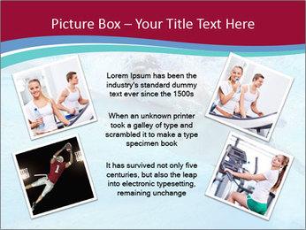 Swimmer Under Water PowerPoint Template - Slide 24