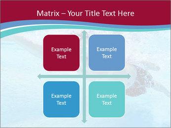Swimmer Under Water PowerPoint Template - Slide 37