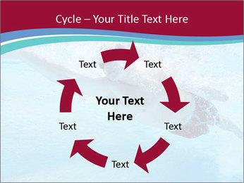 Swimmer Under Water PowerPoint Template - Slide 62