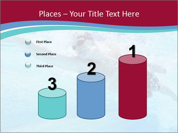 Swimmer Under Water PowerPoint Templates - Slide 65