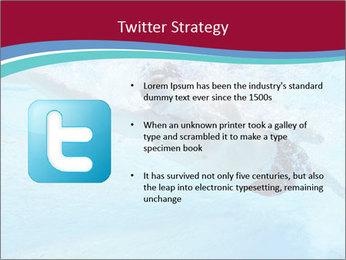 Swimmer Under Water PowerPoint Template - Slide 9