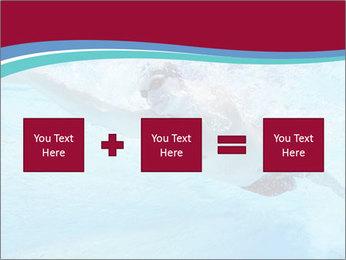 Swimmer Under Water PowerPoint Template - Slide 95