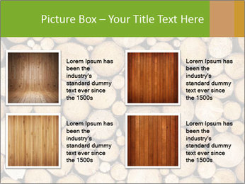 Wooden Decor PowerPoint Templates - Slide 14