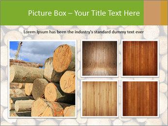 Wooden Decor PowerPoint Template - Slide 19