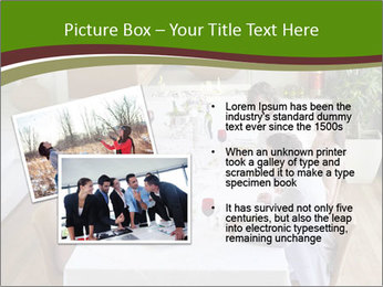 Big Family Having Dinner Together PowerPoint Templates - Slide 20