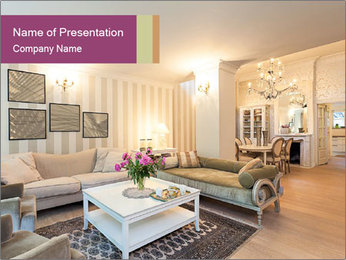 Elegant Interior Design PowerPoint Template