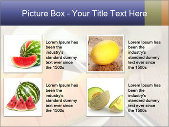 Ripe Melon PowerPoint Template - Slide 14