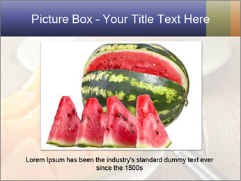 Ripe Melon PowerPoint Template - Slide 15