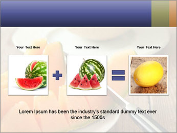 Ripe Melon PowerPoint Template - Slide 22