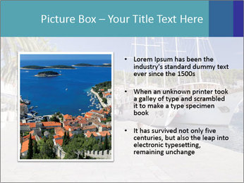 Summer Day At Harbor PowerPoint Template - Slide 13