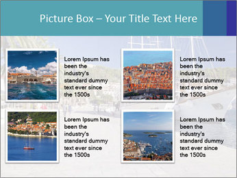 Summer Day At Harbor PowerPoint Template - Slide 14