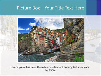 Summer Day At Harbor PowerPoint Template - Slide 15