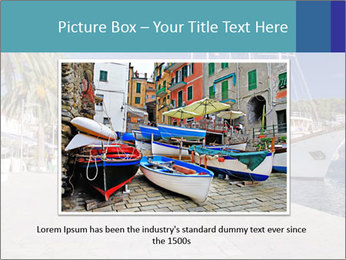 Summer Day At Harbor PowerPoint Template - Slide 16