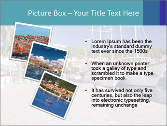 Summer Day At Harbor PowerPoint Template - Slide 17