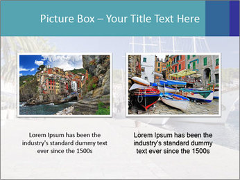 Summer Day At Harbor PowerPoint Template - Slide 18