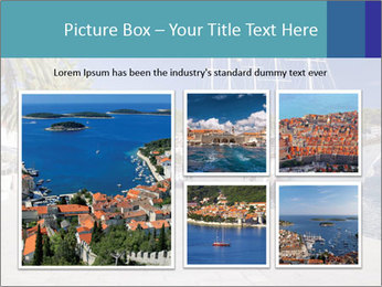 Summer Day At Harbor PowerPoint Template - Slide 19