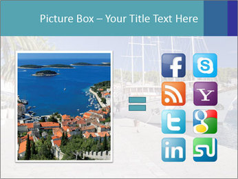 Summer Day At Harbor PowerPoint Template - Slide 21