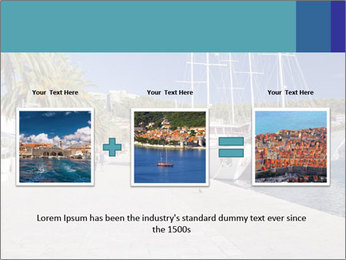 Summer Day At Harbor PowerPoint Template - Slide 22