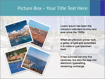 Summer Day At Harbor PowerPoint Template - Slide 23