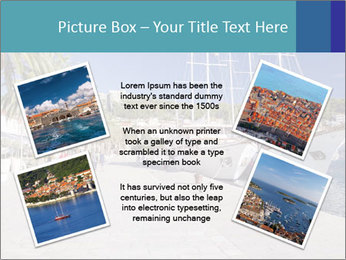 Summer Day At Harbor PowerPoint Template - Slide 24
