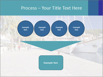 Summer Day At Harbor PowerPoint Template - Slide 93