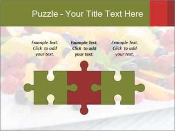Fruit Salad PowerPoint Templates - Slide 42