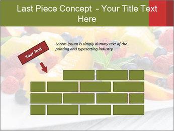 Fruit Salad PowerPoint Template - Slide 46
